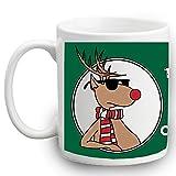 Troppo freddo per Secret Santa regalo tè, caffè tazza di Natale