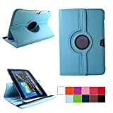 COOVY Etui pour Samsung Galaxy Note 10.1 GT-N8000 GT-N8010 GT-N8020 Coque de Protection Rotation...