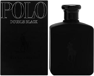 Polo Double Black by Ralph Lauren for Men, Eau De Toilette Natural Spray, 4.2 Ounce