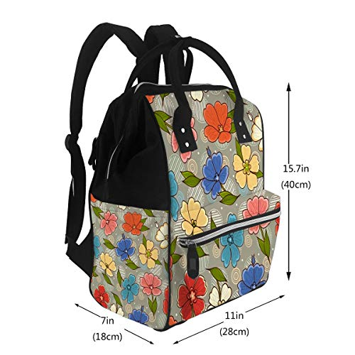 Baby Care Diaper Backpack Flower Shop Gardening Logos Best for Diaper Bags Backpack