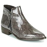 Ippon Vintage Sting Hill Botines/Low Boots Mujeres Gris/Barniz - 40 - Botas De Caña Baja Shoes