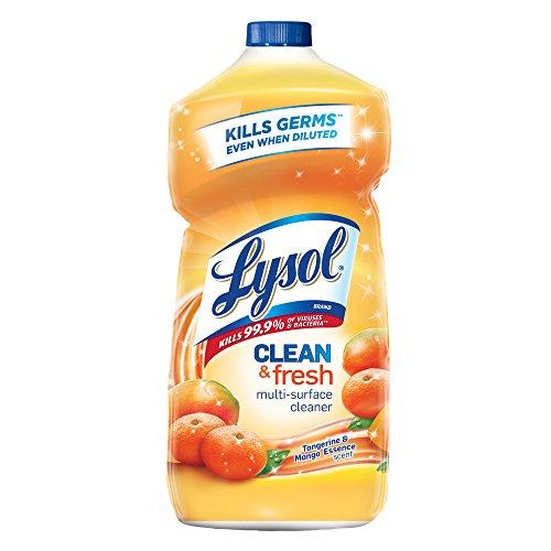 Lysol Clean & Fresh Multi-Surface Cleaner, Tangerine & Mango, 40oz