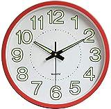 12' Luminous Wall Clock Modern Digital Silent Non...