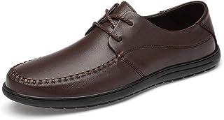 [ワイエルワイ] メンズ ビジネスシューズ 紳士靴 軽量 レザー 耐久性 ファッション 靴 運転