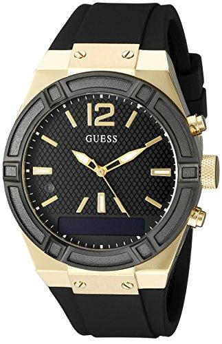 Guess Reloj Análogo clásico para Mujer de Cuarzo con Correa en Acero Inoxidable C0002M3