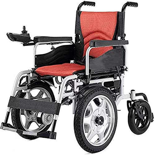 Silla de Ruedas, Vespa automática Antigua, Plegable Liviana para discapacitados para Silla de Ruedas eléctrica, diseño ergonómico, Joystick Universal de 360 Grados
