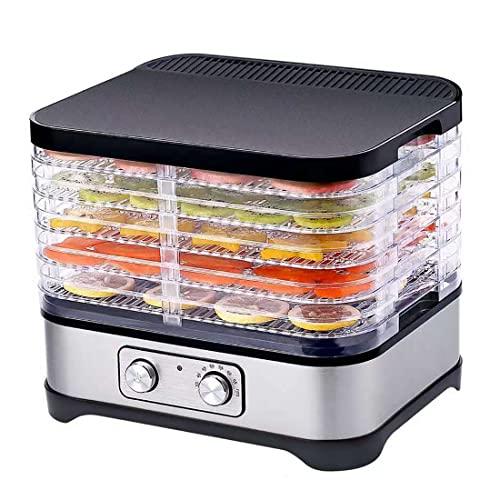 Máquina de frutos secos Carne seca, pescado seco a máquina Secador de frutas Deshidratador de alimentos Ajuste de temperatura Elevable