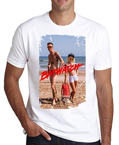 Die Antwoord Baywatchers Design Men's T-Shirt Large