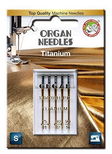 Organ Nadeln #: 75–# 90Combo Titan Universal X 5Nadeln