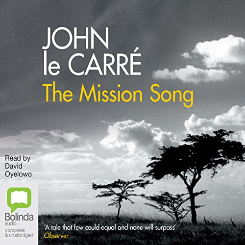 The Mission Song audiobook cover art