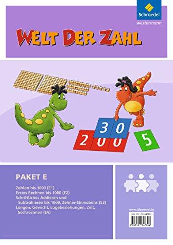 Welt der Zahl - I-Materialien Ausgabe 2012: Paket E: Inklusionsmaterialien - Ausgabe 2012 / Paket E (Welt der Zahl: Inklusionsmaterialien - Ausgabe 2012)