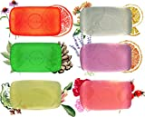 Best Glycerin Soaps - O Naturals Transparent Bar Soap Collection. 6-Pack Botanical Review