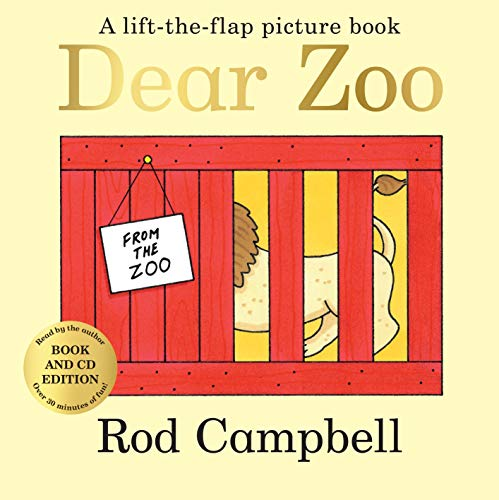 Dear Zoo: Picture Book and CDの詳細を見る