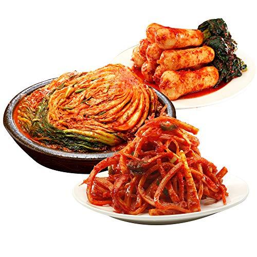 【三口一品MIKUCHI】 白菜キムチ1kg/チョンガクキムチ415g/桔梗キムチ215g SETKIMUCHI クール便発送