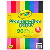 Crayola Construction Paper 9' x 12' Pad, 8 Classic Colors (96 Sheets), Great for Classrooms & School Projects, Assorted