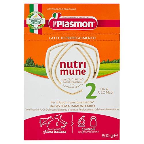 Latte di Proseguimento nutri mune 2 Plasmon - 2 x 400 g