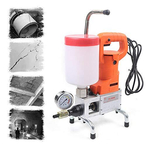 Máquina de juntas de suelo de alta presión, bomba de inyección, para grietas de hormigón, reparación de fugas en agua, piscina, casa, juntas de techo, máquina de inyección, 720 W