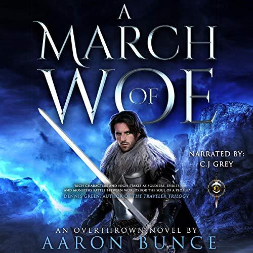 Couverture de A March of Woe (A Grimdark Epic)