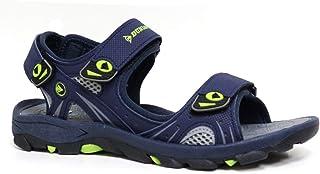 Dunlop Men's Sports Beach Trekking Walking Hiking Touch Close Strap Sandals Sizes 7-12