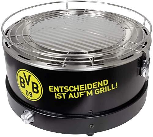 Borussia Dortmund BVB Holzkohle Tischgrill