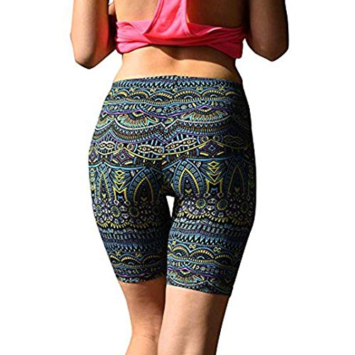 Emmala Oyedens yogabroek outdoor hardlopen fitness unregel yoga kleurgradatie broek verbandbroek mode living sportswear dans dames sportshort functie fitness trainingsbroek joggingbroek