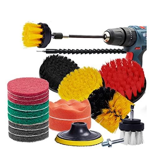 JIABIN Songz Store Power Scrubber Brush Brush Coche Detalles Cepillo Cepillo Limpieza Cepillos Ajuste para Baño Bañera Cocina Auto Limpieza de Automóviles Herramientas de Lavado (Color : Blue)