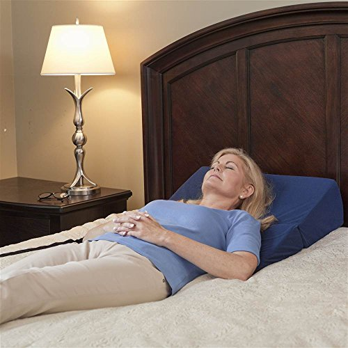Drive Medical Folding Bed Wedge, Blue