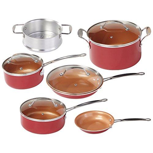 Red Copper Ceramic cookware
