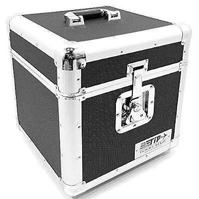 "Total Impact TIP LP100 12"" Vinyl Record Storage Carry Case Box Black"
