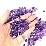 TR318 Purple Crystal Amethyst Pebble Gravel for Fish Turtle Tank Landscape Bottom Decoration