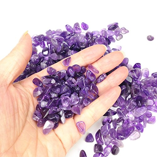 Amethyst Pebble Gravel for Resin Geodes