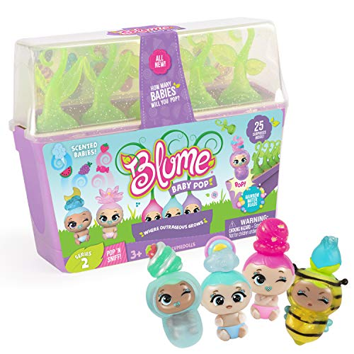 Blume Baby Pop POP 'N' SNIFF – 25 New Surprises Including Scented & Glitterized Babies, Series 2