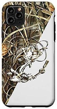 iPhone 11 Pro Max Bass Fishing camo funny case Love Bass camo tattoo Case