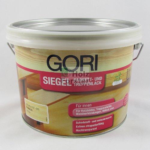 Gori Siegel Parkettlack farblos hochglanz 9900, 2,50 Liter