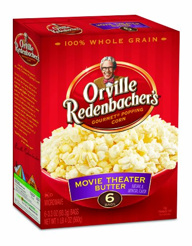 Find Discount Orville Redenbacher's Gourmet Microwavable Popcorn, Movie Theater Butter, 6-Count Boxe...