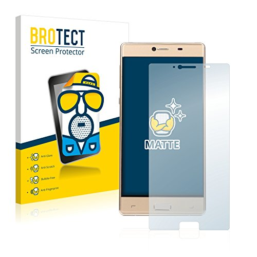 BROTECT 2X Entspiegelungs-Schutzfolie kompatibel mit Elephone M2 Bildschirmschutz-Folie Matt, Anti-Reflex, Anti-Fingerprint