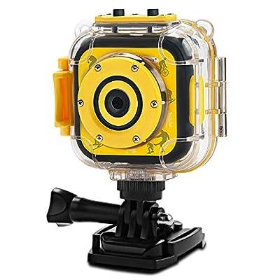 PROGRACE Children Kids Camera Waterproof Digital Action Camera for Boys Girls by PROGRACE