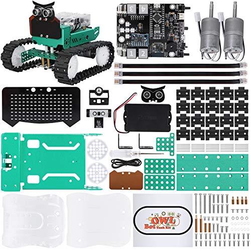 ELEGOO Búho Kit de Coche Robótico Inteligente Plus Compatible con Arduino