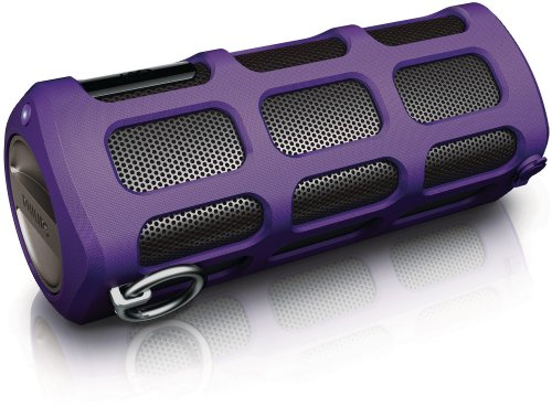 Philips Shoqbox Portable Bluetooth Speaker SB7260/37 (Purple) (Discontinued by Manufacturer)