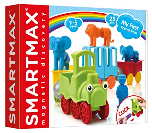 Smart Games-SMX410 My First Animal Train, Multicolor (Ludilo 249887)