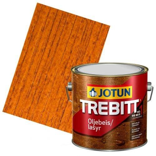 JOTUN TREBITT Lasur Teak 3l- Holzlasur Holzschutzlasur