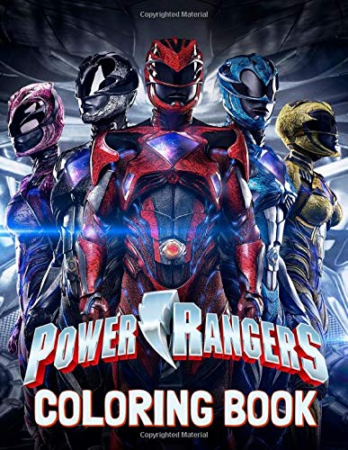 Power Rangers Coloring Book: Great Coloring Book for Kids and Adults (Exclusive Book For Children Ages 4-12)