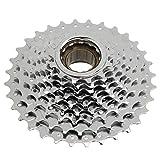 RiToEasysports Rueda Libre giratoria de 9 velocidades Aleación de Aluminio 9 velocidades Bicicleta de montaña Piñón de Cassette roscado Accesorio de Bicicleta