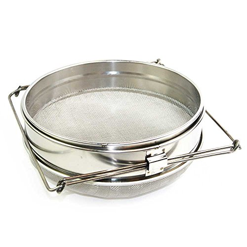 Goodland Bee Supply Food Grade 304 Double Sieve Honey Strainer