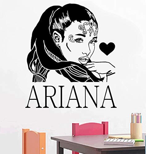 xingzhi Cartel R&B Cantante Estrella Ariane Grande Tatuajes De Pared Decoración del...