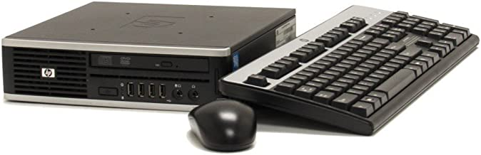 HP Elite 8300 Ultra Slim Business Desktop PC - Intel Core i5-3470S 2.9GHz 8GB 320GB DVDRW Windows 10 Professional (Renewed)