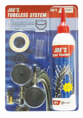 Joe's No Flats Kit conversione Tubeless MTB 26' 27,5' 29' Valvola Presta