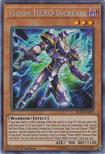 Yu-Gi-Oh! - Vision Hero Increase - BLHR-EN007 - Secret Rare - 1st Edition - Battles of Legend: Hero