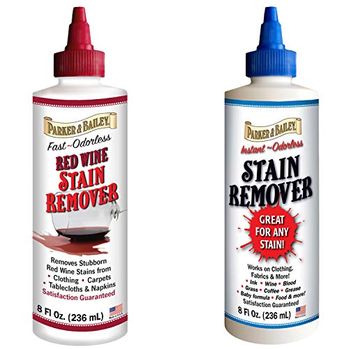 Parker and Bailey Stain Remover Bundled with Red Wine Stain Remover