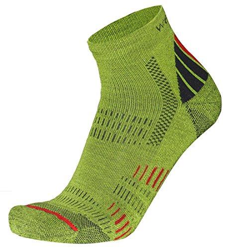 Wapiti Herren S05 Socke, Lime, 42-44